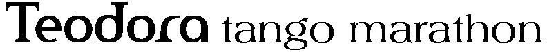Teodora tango marathon Logo